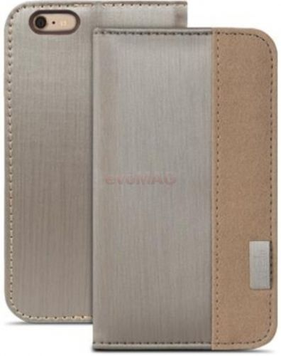 Husa Book cover Moshi Overture pentru Apple iPhone 6 Plus/6S Plus (Gri)