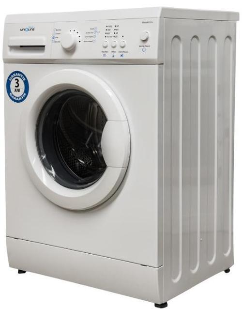 Masina de spalat Uniqline Aqua UWM5080+, 800RPM, 5kg, Clasa A+ (Alb)