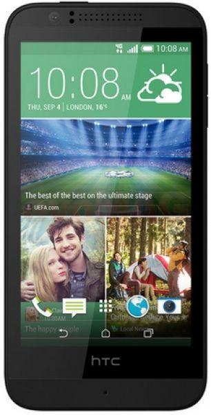 Telefon Mobil HTC Desire 510, Procesor Quad-core 1.2 GHz Cortex-A53, Capacitiv touchscreen 4.7inch, 8GB Flash, 1GB RAM, 5MP, Wi-Fi, 4G, Android (Gri)( 42297)