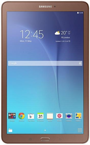 Tableta Samsung Galaxy Tab E T560, Procesor Quad-Core 1.3GHz, TFT Capacitive touchscreen 9.6inch, 1.5GB RAM, 8GB, 5MP, Wi-Fi, Android (Maro)