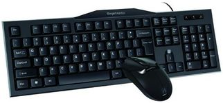 Kit Tastatura Segotep si Mouse Colorful C-K106 Combo, USB (Negru)