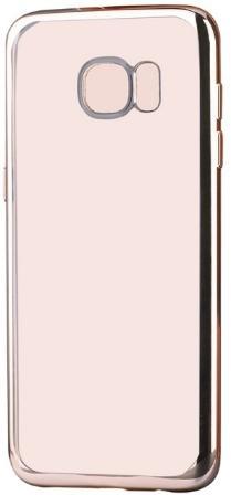 Protectie spate Devia Glitter Soft DVGLTSFG930CG pentru Samsung Galaxy S7 (Auriu)