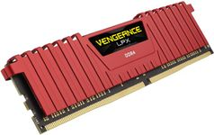 Memorie Corsair Vengeance LPX Red DDR4, 1x8GB, 2400 MHz, CL 16