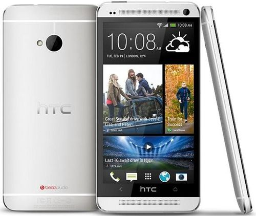 Telefon Mobil HTC One, Procesor Quad-Core 1.7 GHz, Super LCD3 Capacitive Touchscreen 4.7inch, 2GB RAM, 32GB Flash, Wi-Fi, 4G, Android 4.1.2 Jelly Bean (Argintiu)( 43578)