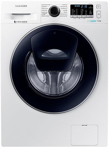 Masina de spalat Samsung Eco Bubble WW70K5410UW/LE, 1400 Rpm, 7Kg, Clasa A+++ (Alb)