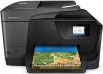 Multifunctional HP Officejet Pro 8710 e-All-in-One, inkjet, Fax, A4, 22 ppm, Duplex, ADF, Retea, Wireless