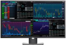 "Monitor IPS LED Dell 42.5"" P4317Q, Ultra HD (3840 x 2160), HDMI, DisplayPort, VGA, 6 ms, Boxe (Gri)"