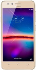 Telefon Mobil Huawei Y3II, Procesor Quad-Core 1.3GHz, Super Amoled Capacitive touchscreen 4.5inch, 1GB RAM, 8GB Flash, 5MP, 4G, Wi-Fi, Dual Sim, Android (Auriu)