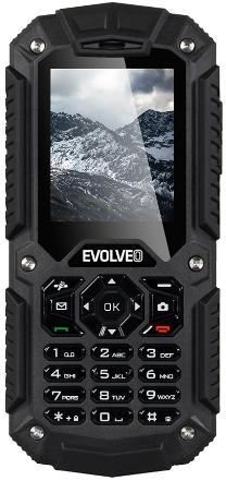 Telefon Mobil Evolveo StrongPhone X2, LCD 2inch, 3G, 1.3MP, Dual Sim, Rezistent la apa si praf (Negru)