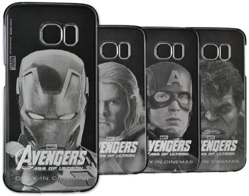 Protectie spate Samsung Marvel Avengers Age Of Ultron pentru Samsung Galaxy S6 (Transparent)