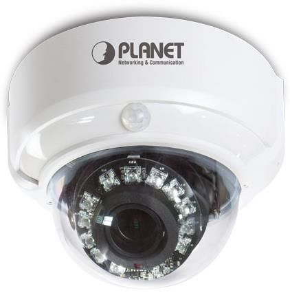 Camera Supraveghere Video Planet ICA-4200V, IP Dome, 1/2.7inch CMOS, Full HD, PoE (Alb)