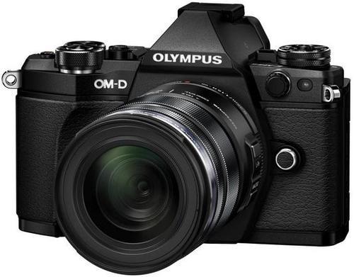 Aparat Foto Mirrorless Olympus E-M5II 1250 Kit, 16 MP, Filmare Full HD (Negru)