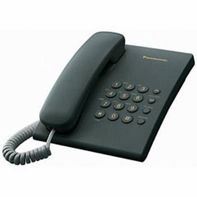 Telefon Fix Panasonic KX-TS500 (Negru) poza 2021