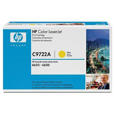 Toner HP C9722A (Galben)