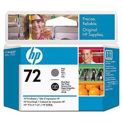 Cap printare HP 72 (Gri / Negru foto) poza 2021