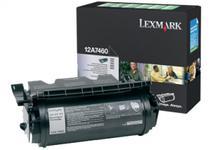 Toner Lexmark 12A7460 (Negru - program return)