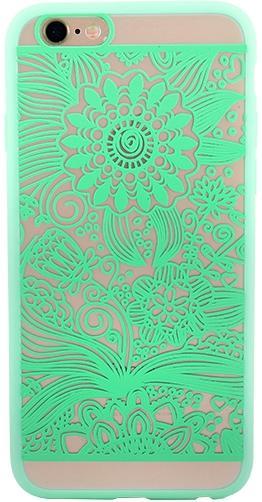 Protectie spate Yuppi Love Tech Spirit Natural pentru Apple iPhone 6 Plus/6S Plus (Verde)