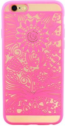Protectie spate Yuppi Love Tech Spirit Natural pentru Apple iPhone 6 Plus/6S Plus (Roz)