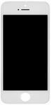 Inlocuire asamblu complet Display+Sticla iPhone SE culoare Alb
