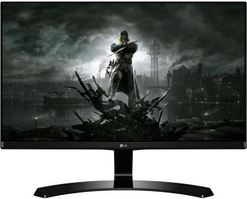 Monitor Gaming IPS LED LG 23.8inch 24MP68VQ-P, Full HD (1920 x 1080), HDMI, DVI, VGA, 5 ms (Negru)