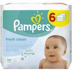 Servetele umede Pampers Baby Fresh 6x64 buc