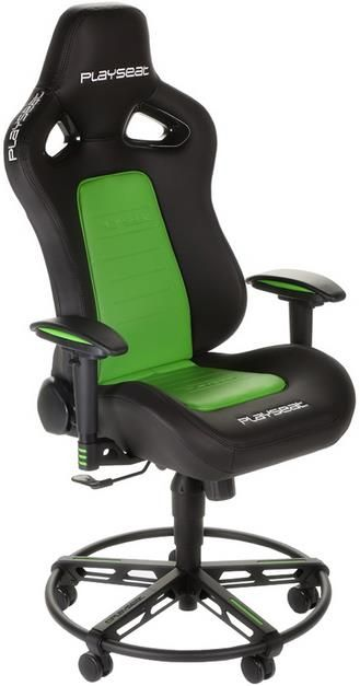 Scaun Gaming Playseat L33T, reglabil (Verde)