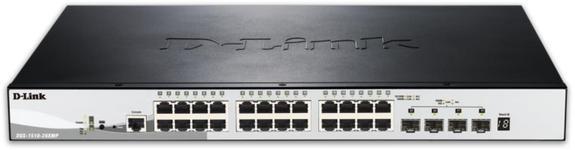 Switch D-Link DGS-1510-28XMP, Gigabit, 28 Porturi, PoE