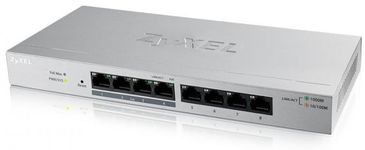 Switch ZyXEL GS1200-8HP, Gigabit, 8 Porturi, PoE