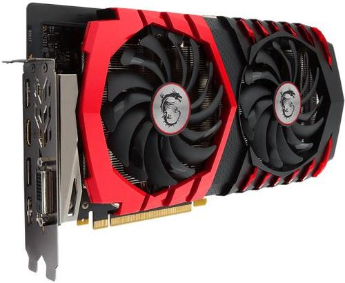 placa video msi geforce gtx 1060 gaming, 6gb, gddr5, 192 bit