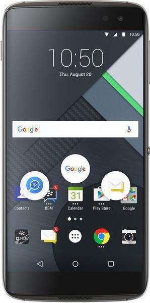 Telefon Mobil BlackBerry DTEK60, Procesor Quad-Core 2.1 GHz / 1.6 GHz, IPS LCD capacitive touchscreen 5.5inch, 4GB RAM, 32GB Flash, 21MP, Wi-Fi, 4G, Android (Negru)