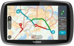 """Sistem de navigatie TomTom GO 5100 World, Ecran Tactil 5"""", 8GB Flash, Actualizari pe viata a hartilor, Sim&Data, Harta Full Europa"""