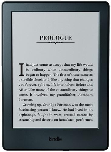 E-Book Reader Amazon Kindle 6 Glare Gen8, Ecran Carta 16 nivele tonuri de gri 6inch, 4GB, Wi-Fi (Neg