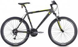 "Bicicleta MTB Leader Fox Evolution 2015, Cadru 16"", Roti 26"" (Gri)"