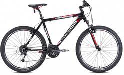 "Bicicleta MTB Leader Fox Evolution 2015, Cadru 16"", Roti 26"" (Negru)"