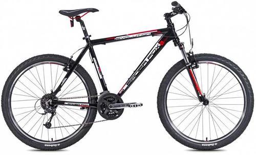 Imagine indisponibila pentru Bicicleta MTB Leader Fox Evolution 2015, Cadru 16inch, Roti 26inch (Negru)