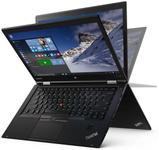 "Laptop 2in1 Lenovo ThinkPad X1 Yoga (Procesor Intel® Core™ i5-6200U (3M Cache, up to 2.80 GHz), Skylake, 14""QHD, Touch, 8GB, 256GB SSD, Intel HD Graphics 520, Tastatura iluminata, Wireless AC, Modul 4G, FPR, Win10 Pro 64, Negru)"