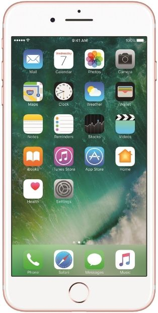 Telefon Mobil Apple iPhone 7 Plus, Procesor Quad-Core 2.23GHz, LED-backlit IPS LCD Capacitive touchscreen 5.5inch, 3GB RAM, 256GB Flash, Dual 12MP, Wi-Fi, 4G, iOS (Rose Gold)
