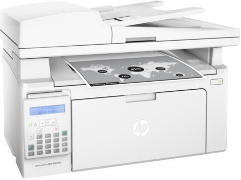 Multifunctional HP LaserJet Pro MFP M130fn, laserjet alb-negru, Fax, A4, 22 ppm, ADF, Retea imagine