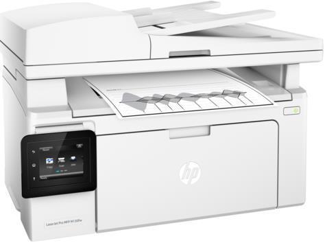 Multifunctional HP LaserJet Pro MFP M130fw, laserjet alb-negru, Fax, A4, 22 ppm, ADF, Retea, Wireless imagine