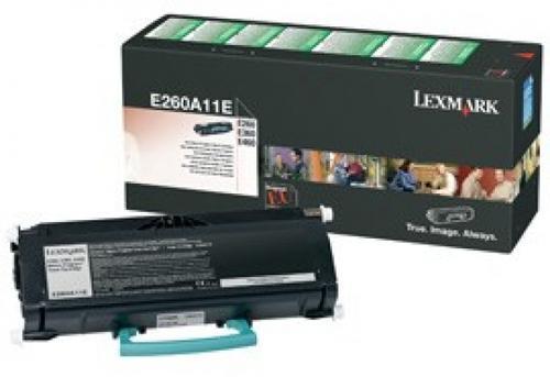 Toner Lexmark E260A11E (Negru - program return) poza 2021