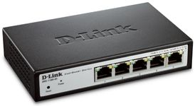Switch D-Link DGS-1100-05, Gigabit, 5 Porturi
