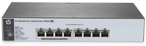 Switch HP 1820 8G, Gigabit, 8 Porturi, PoE
