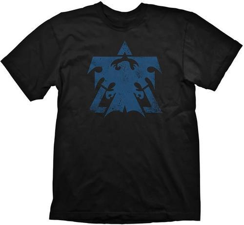 Tricou Starcraft 2 Terran Logo, marime S (Negru)