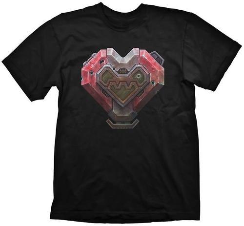 Tricou Starcraft 2 Terran Heart, marime M (Negru)