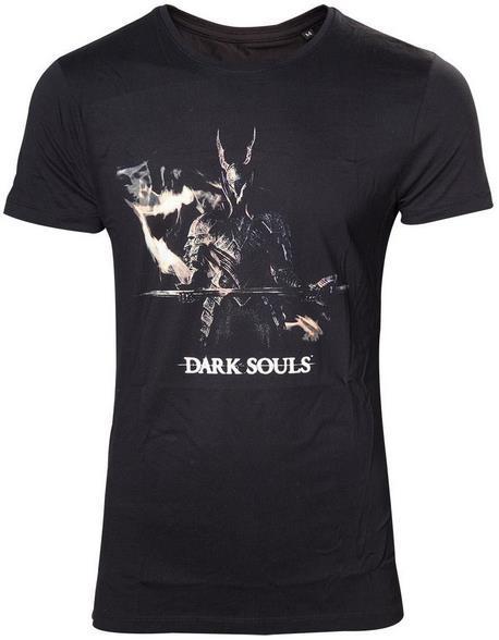Tricou Dark Souls 3 Black Knight, marime L (Negru)