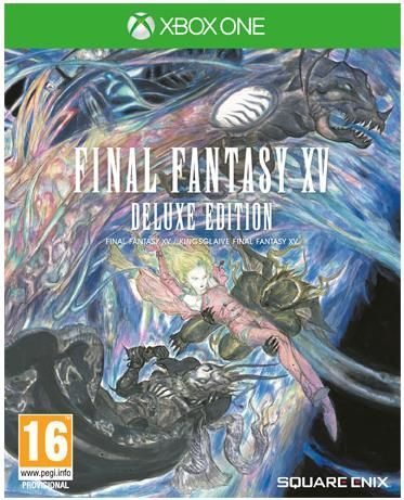 final fantasy xv deluxe edition (xbox one)