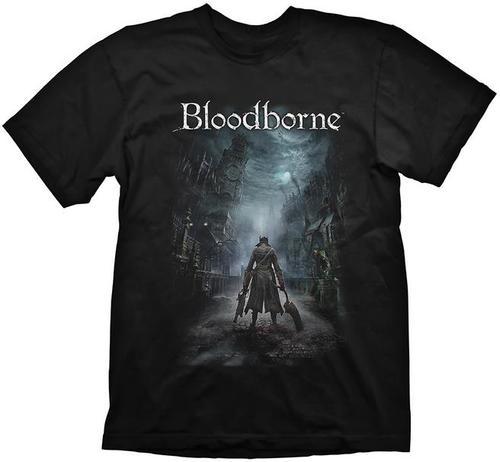 Tricou Bloodborne Night Street, marime XXL (Negru)