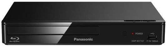 Blu-ray player Panasonic DMP-BDT167EG, Smart, Full HD, 3D,(Negru)