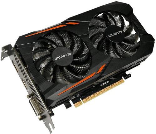 Placa Video GIGABYTE GeForce GTX 1050 OC, 2GB, GDDR5, 128 bit
