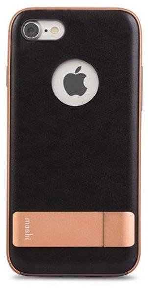 Protectie spate Moshi Kameleon pentru iPhone 7 (Negru)